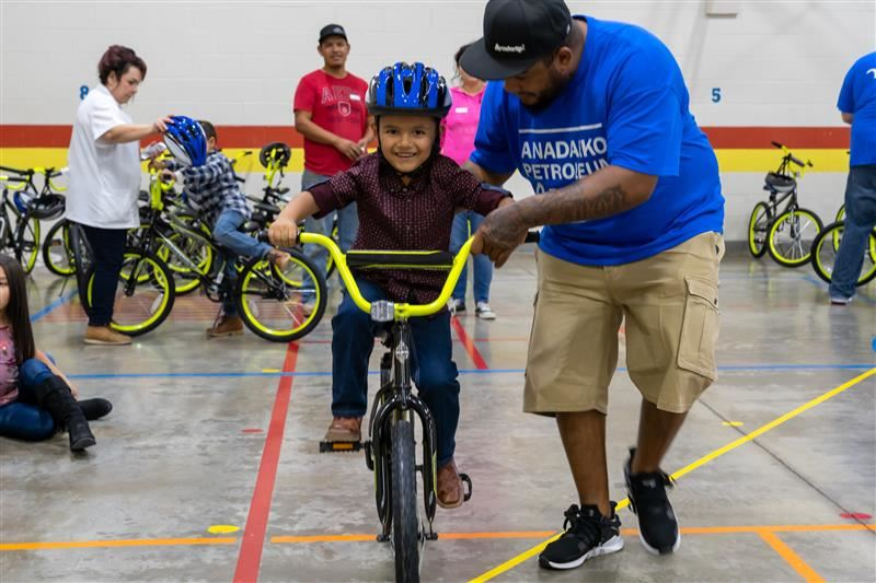 All De Zavala first-graders given free bikes