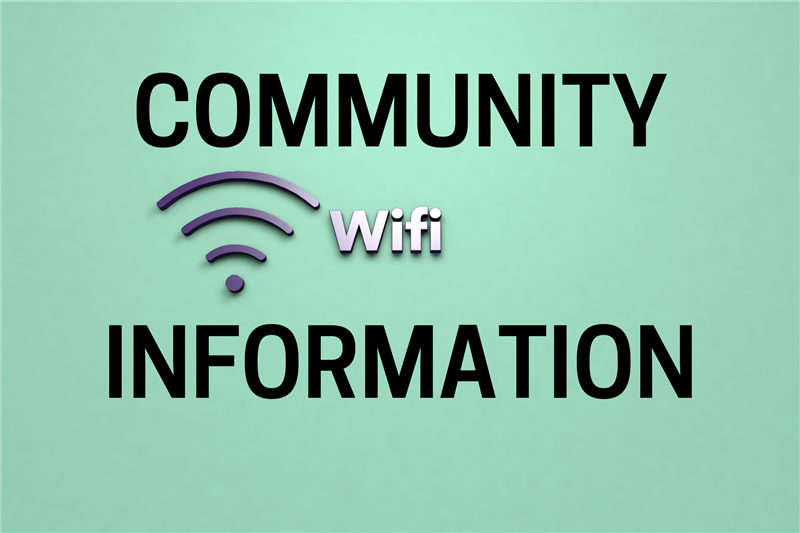Community Wi-Fi Information