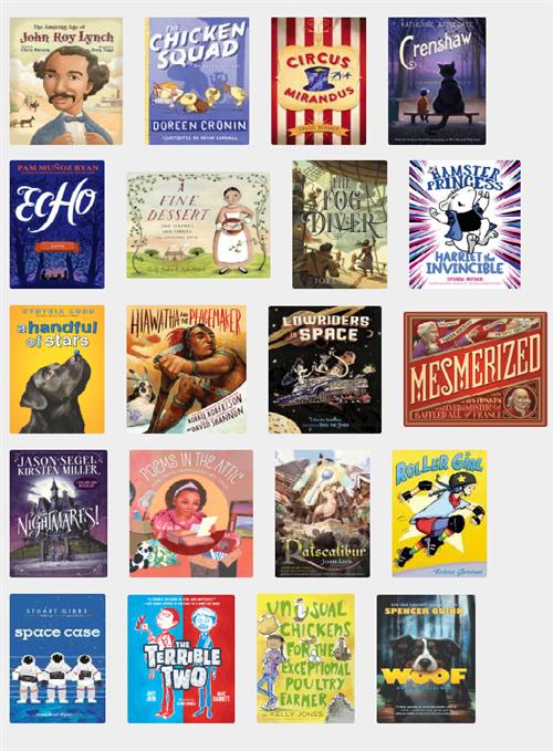 LIBRARY / Texas Bluebonnet Books