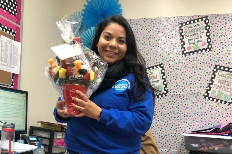 South honors counselor for National Counseling Week