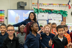 Mary Torres keeps kindergarteners excited about education
