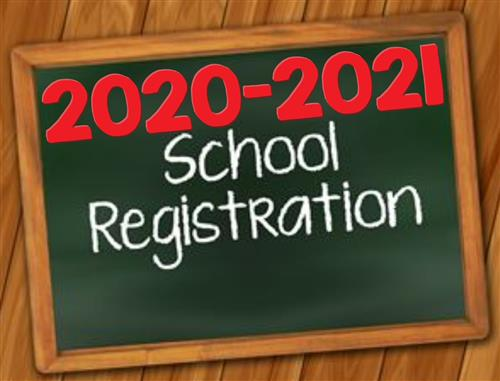 2020-2021 School Registration Information
