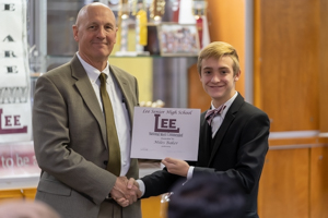 Lee High recognizes students for academic achievement