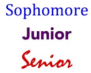 Senior Junior Sophomore