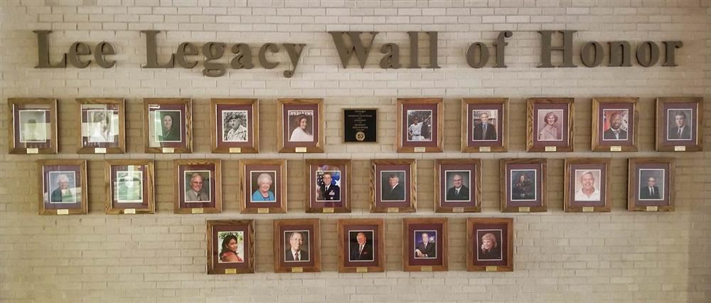 Lee Legacy Wall of Honor