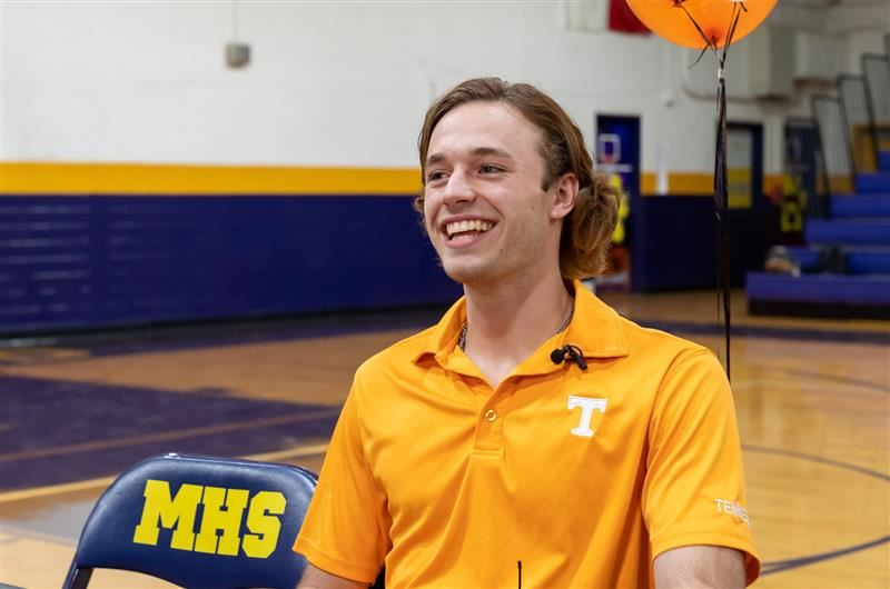 Tyler Wade signs with the University of Tennessee