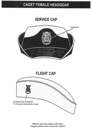 Cadet Female Headgear