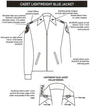 Cadet Lightweight Blue Jacket