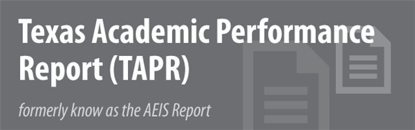 2014-2015 Greathouse Texas Academic Performance Report
