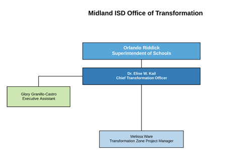 Transformation Office Organizational Chart