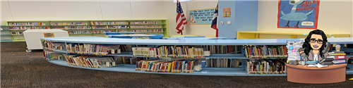 Bunche Elementary Library