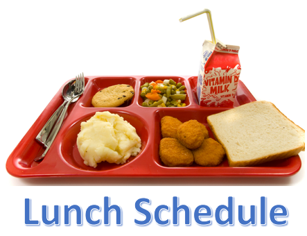Lunch Schedule 2016-2017