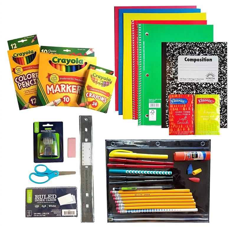 School Supplies Lists 2019-2020