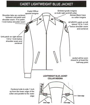 Afrotc Uniform Guide 116