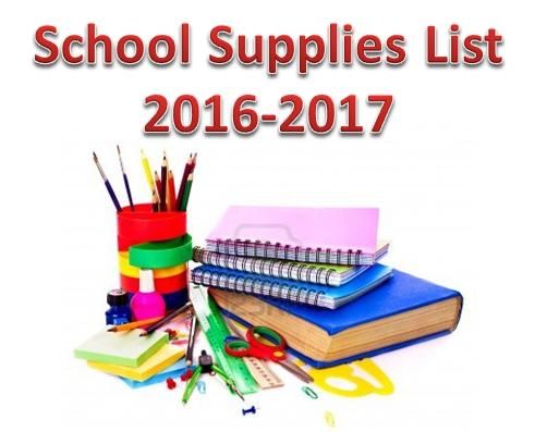 Click here to view the 2016-2017 School Supply List