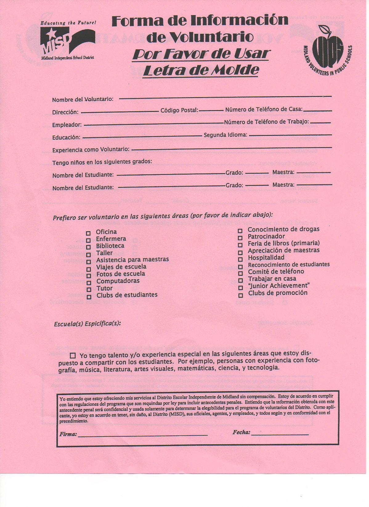 img065 Volunteer Application Form In Spanish on newsletter in spanish, benefits in spanish, program in spanish, essay in spanish, apply online in spanish, registration in spanish, history in spanish, staff in spanish, procedure in spanish, important dates in spanish, general information in spanish, education in spanish, curriculum in spanish, management in spanish, insurance in spanish, jobs in spanish, amenities in spanish, syllabus in spanish, checklist in spanish, schedule in spanish,